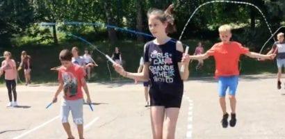 Jump rope for school children