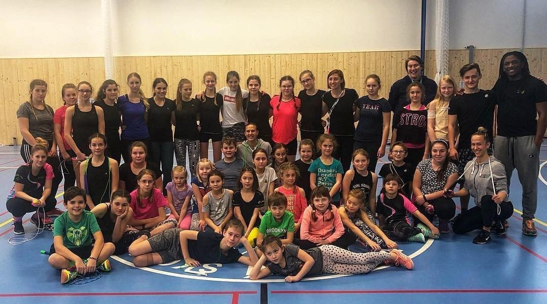 Jumpplus World Workshop in Novy Jicín, Czech Republic!