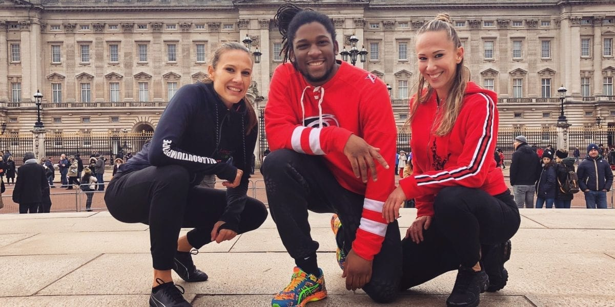 Jumpplus World in London, jumping around the city and enjoying a great time while doing some double dutch!