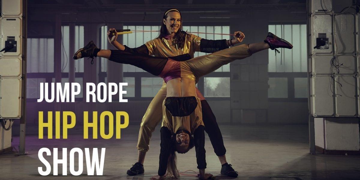 Jump Rope Hip Hop Show by Adrienn & Kata Banhegyi